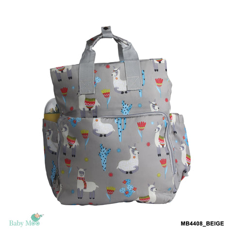 Nature Lover Beige Diaper Bag