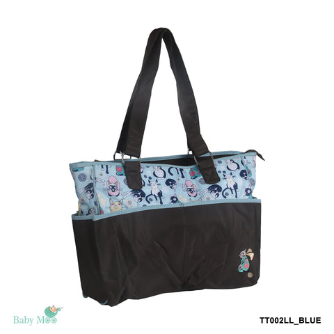 Kitty Blue Diaper Bag