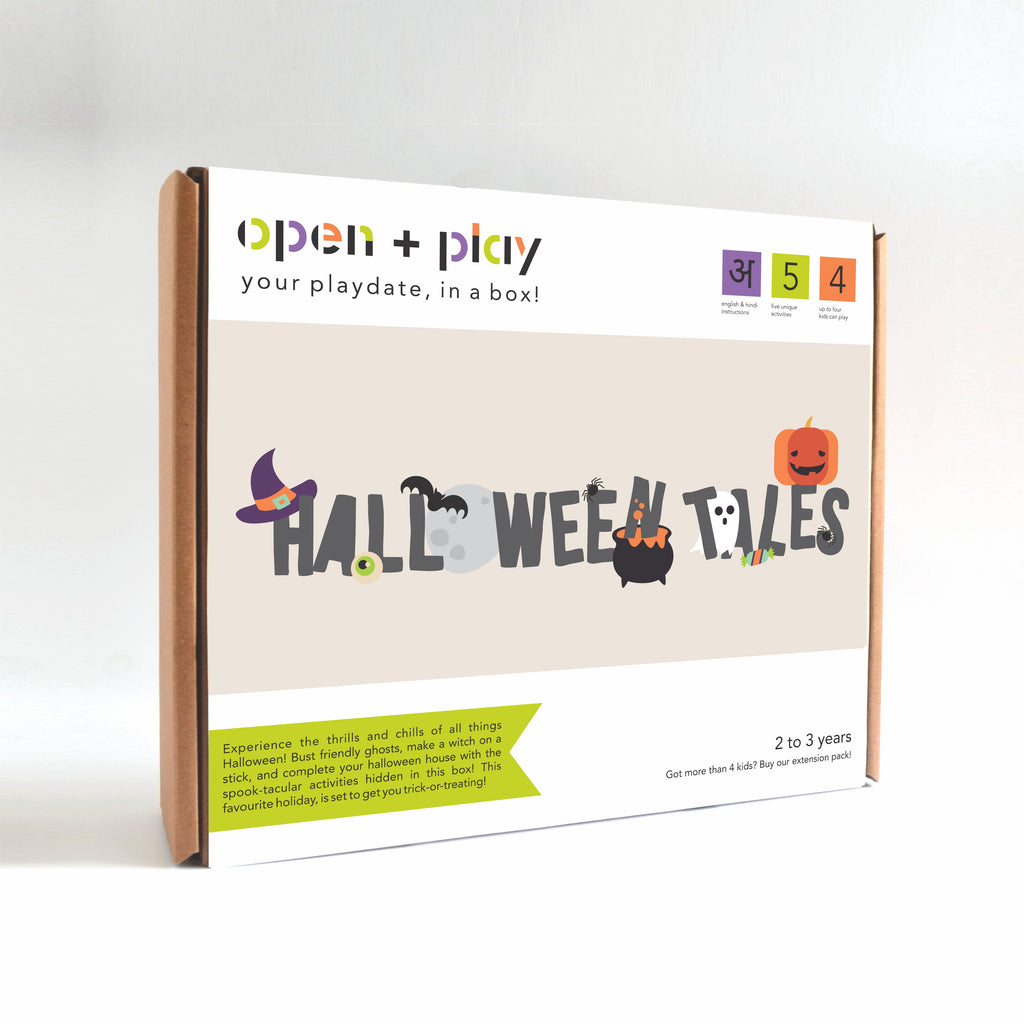 Halloween Tales- Group Activity Box