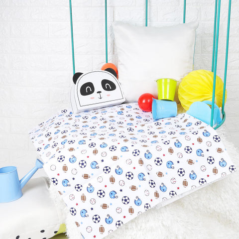 Kicks & Crawl - Have a Ball Waterproof Bed Sheet