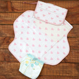 Hearts Diaper Clutch