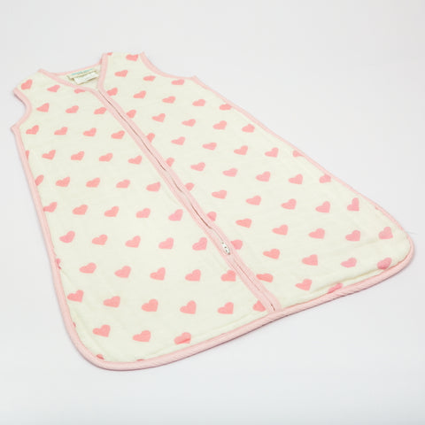 Hearts Muslin Sleep Sack