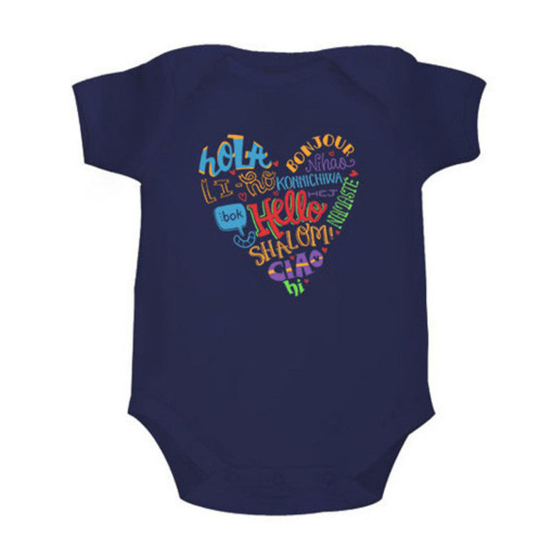 Hello! - Organic Cotton Onesie