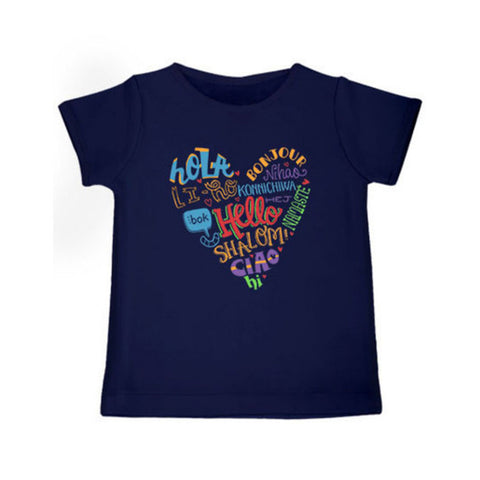 Hello - Organic Cotton Tees for Toddlers