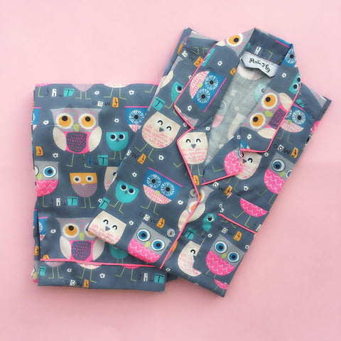 Kid's Pyjama Set - Owl