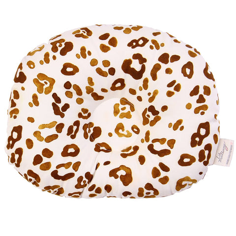 Golden Leopard Infant Pillow