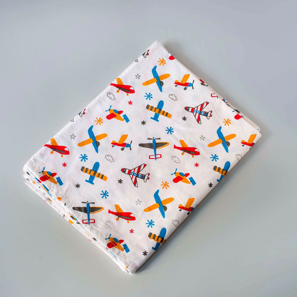 Off-We-Go! Fitted Sheet, More prints available