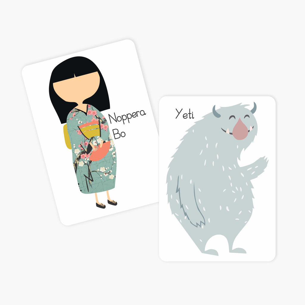 Flash & Fact Cards | Imaginary Creatures