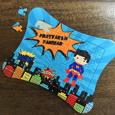 Personalised Jigsaw Puzzle - SuperBoy