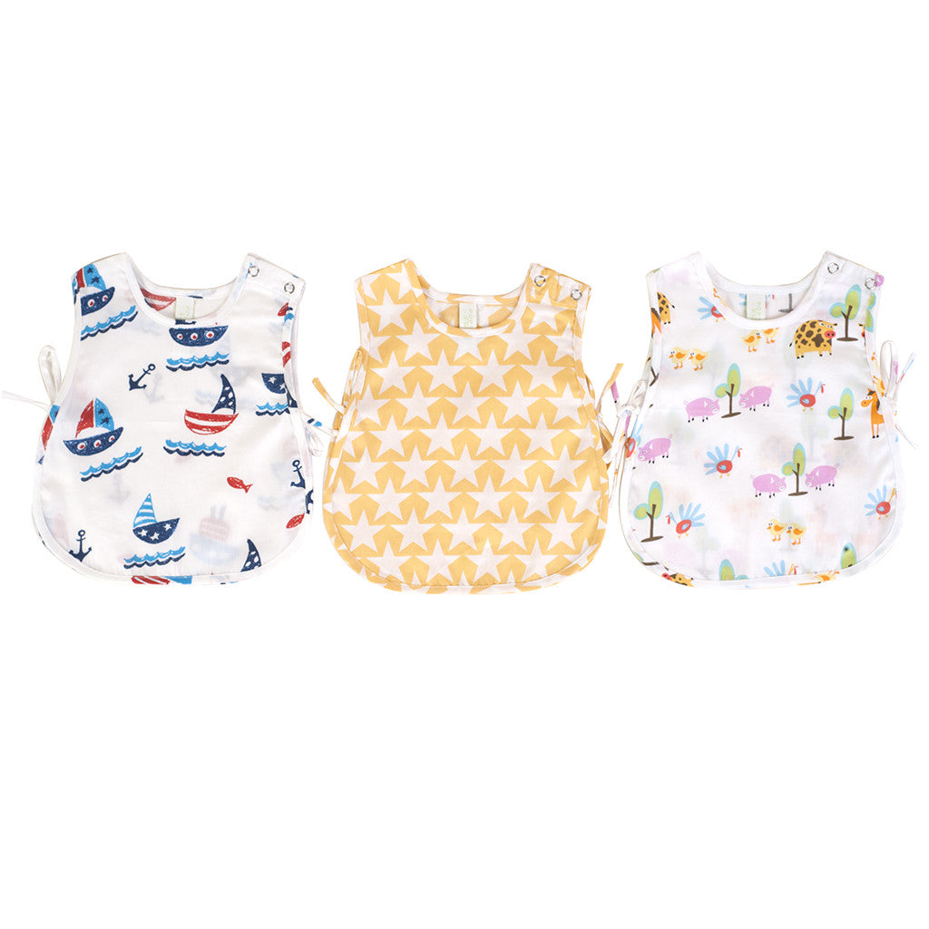 Infant Jhablas - Boat/Star/Farm, Set of 3