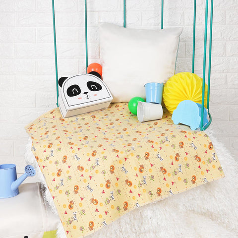 Kicks & Crawl - Jungle Baby Waterproof Bed Sheet