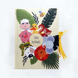 Personalised Notebook (A5 Size)- Jungle Full of Love