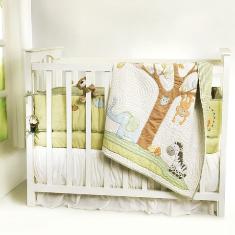 Jungle Safari Complete Bedding Set <br> With Free Personalisation