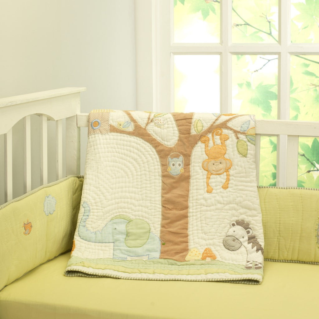 Jungle Safari Bedding Set