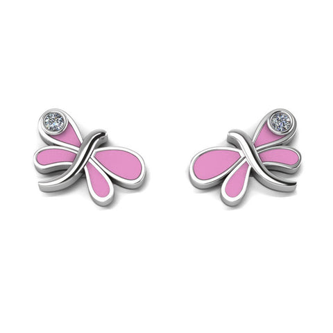 Sterling Silver Earring - Butterfly