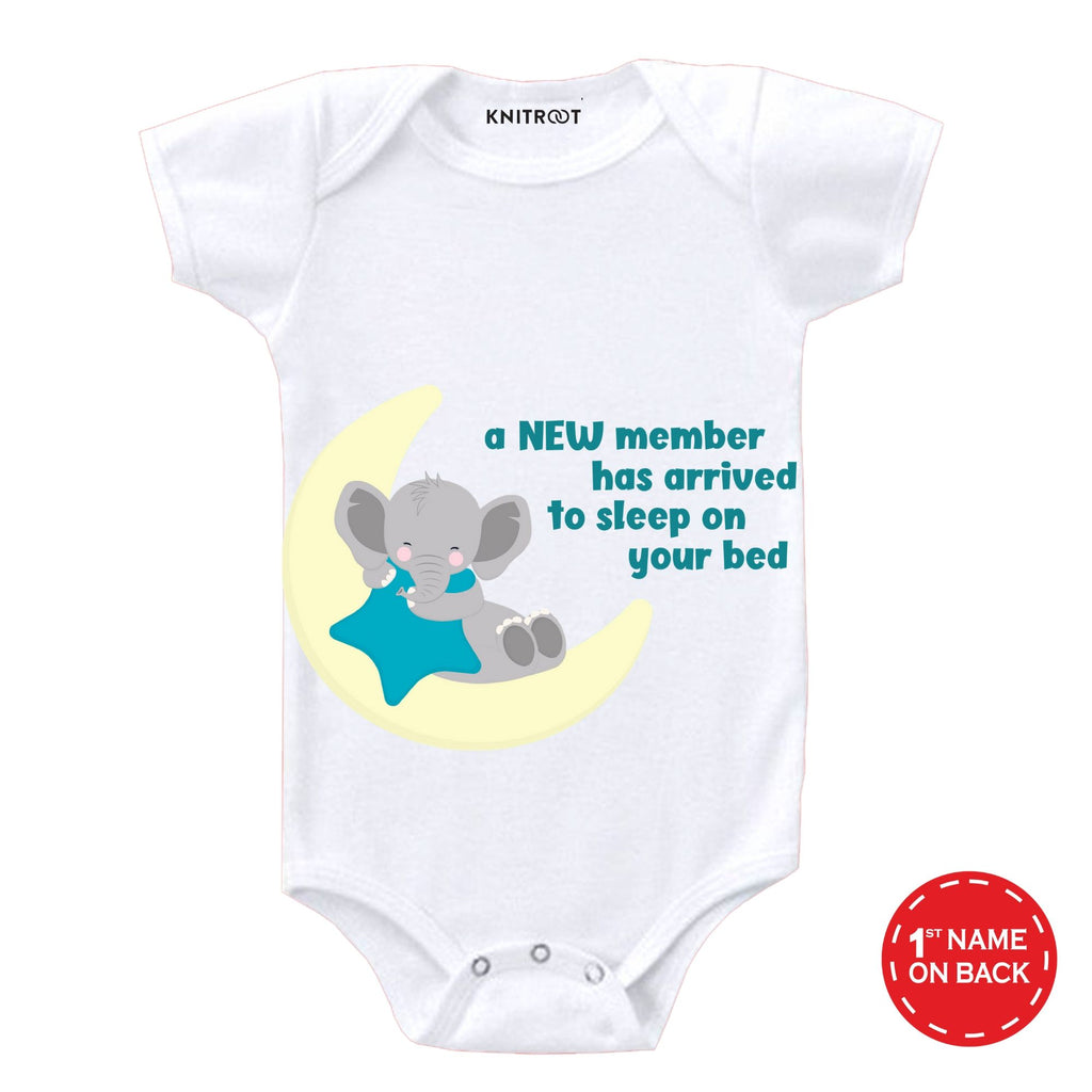 A New Member Is Arrived Onesie