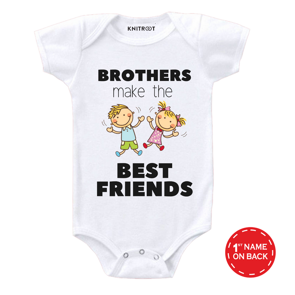Brothers Make Best Friend Onesie