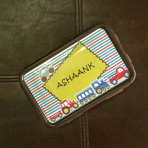 Personalised Lunch box - Transport