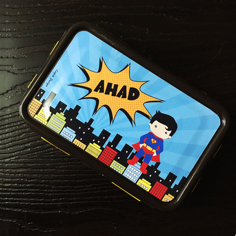 Personalised Lunch box - Superboy