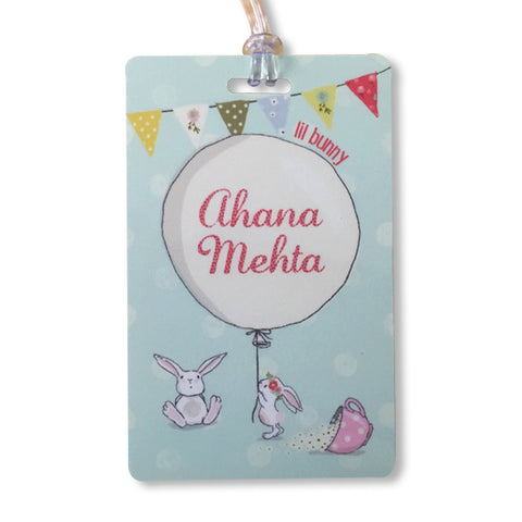 Luggage Tags - Little Bunny, Set of 2