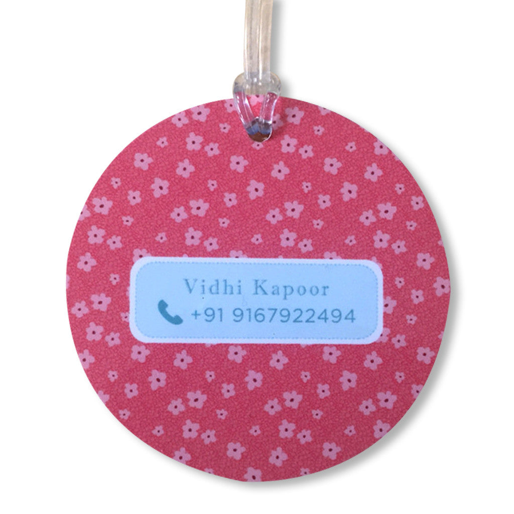 Luggage Tags - Little Bunny (Round), Set of 2