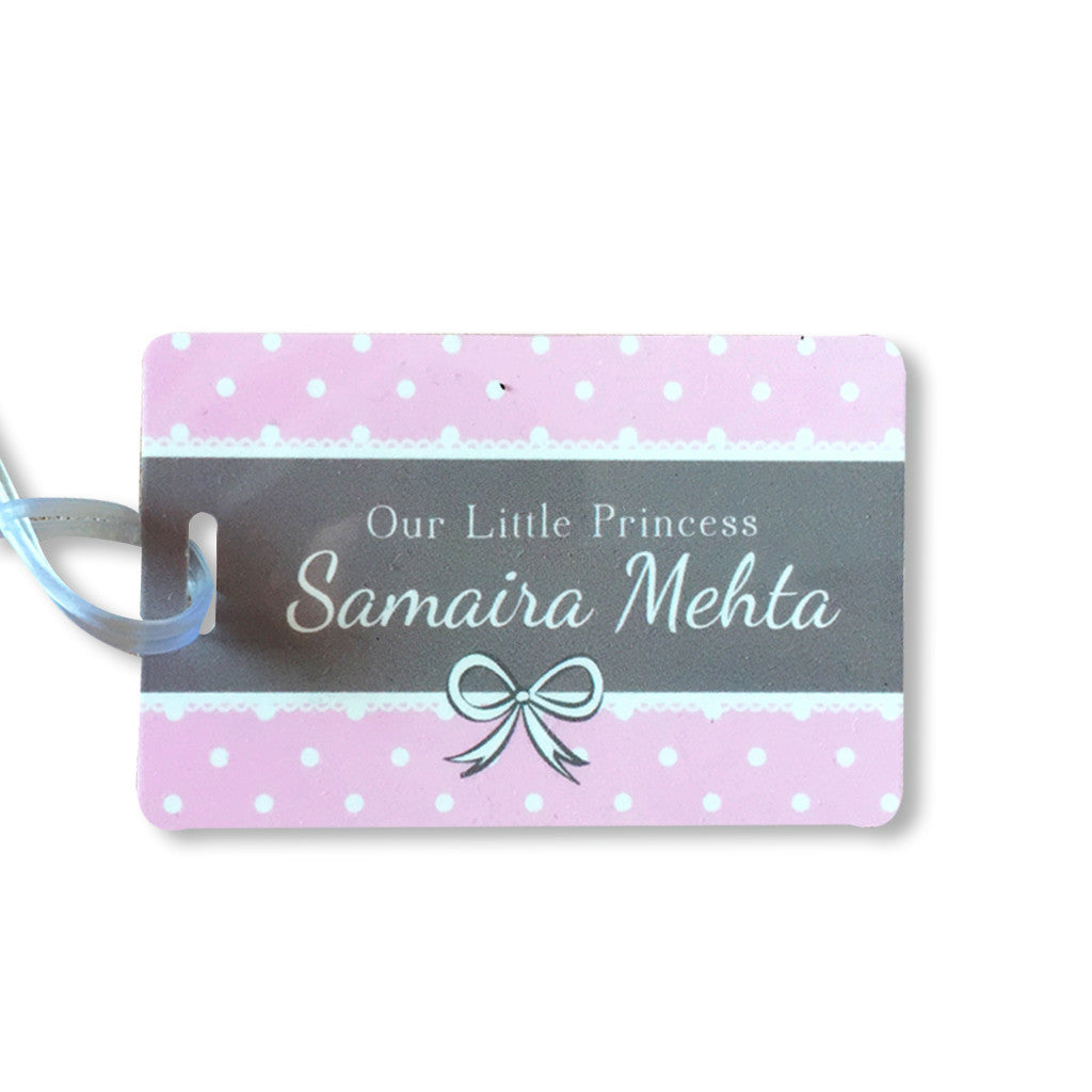Luggage Tags- Little Lady <br> Set of 2