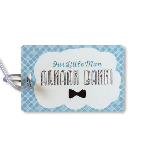 Luggage Tags - Little Man, Set of 2