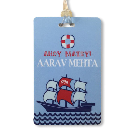 Luggage Tags - Nautical, Set of 2