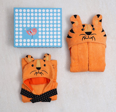 Spa Time Baby/Toddler Gift Set (Tiger) Orangr