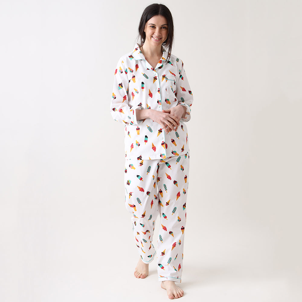 Icecream Pyjama Set for Women