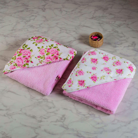 "La Rose Towel Set <br> Set Of 2 <br> <span style=""font-size: 11px; font-family:Helvetica,Arial,sans-serif;"">Can Be Personalised</span>"