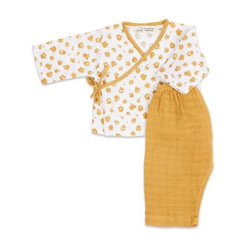 Masilo Kimono Lounge Set - Born To Be Wild (Paws)