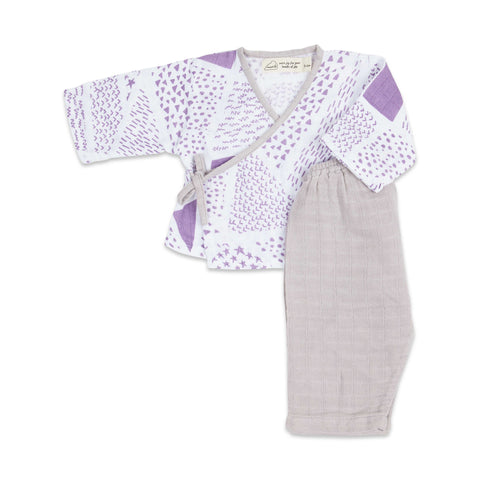 Masilo Kimono Lounge Set - Never Stop Dreaming (Twilight)