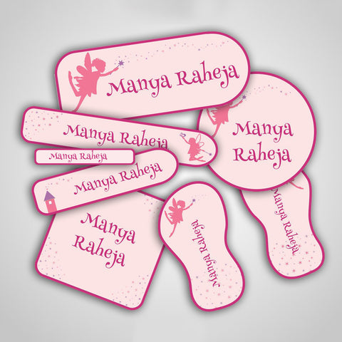 Fairies & Princess Labels Super Saver Set