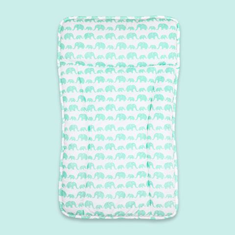 Masilo Changing Mattress Pad - Elephant Parade