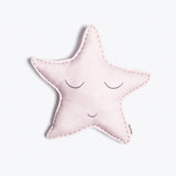 Organic Shaped Cushion <br> Pink Star