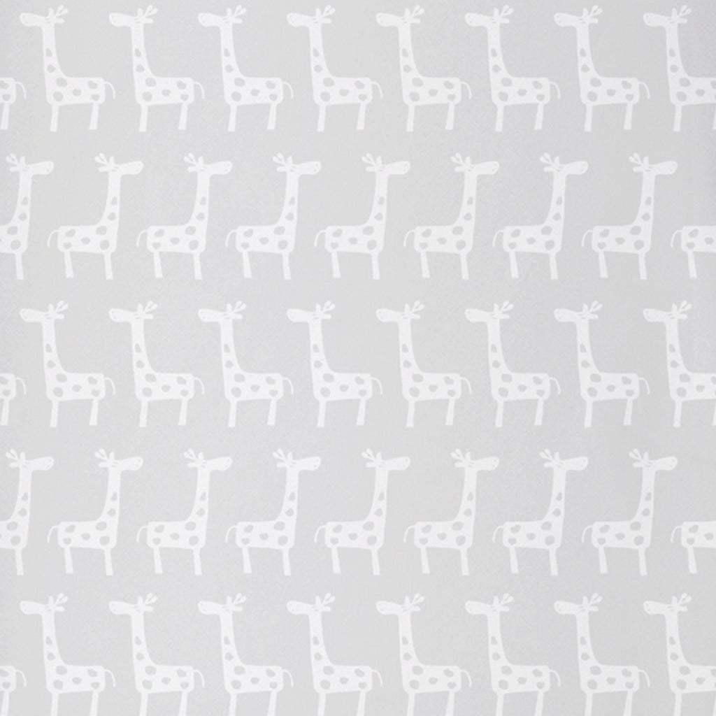 100% Organic Cotton Fitted Crib Sheet Pack of 1- Giraffe