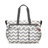 Skip Hop Duo Double Signature Diaper Bag, Chevron