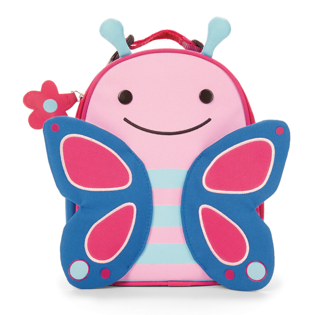Skip Hop Zoo Lunchie Insulated Lunch Bag, Butterfly