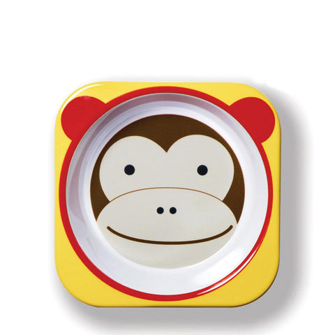 Skip Hop Zoo Melamine Bowl, Monkey