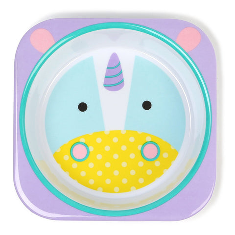 Skip Hop Zoo Melamine Bowl, Unicorn