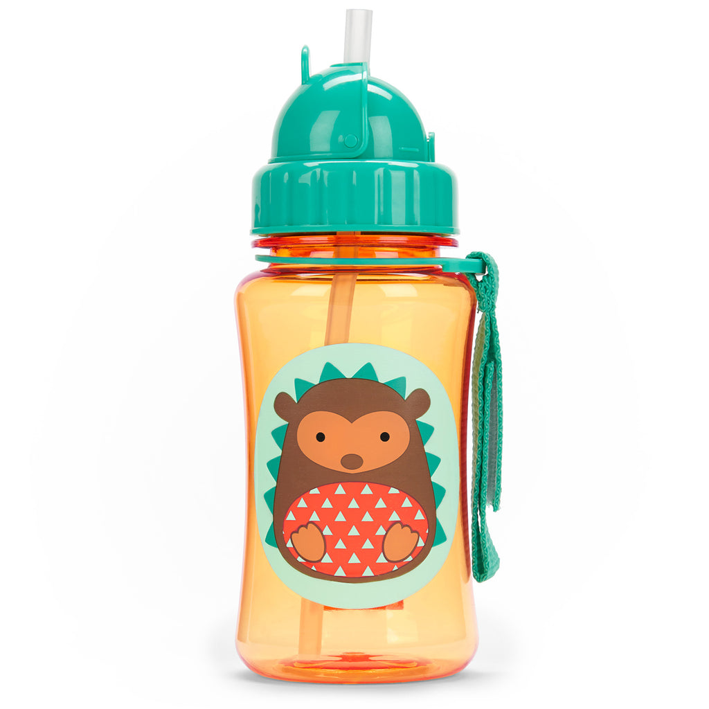 Skip Hop Zoo Straw Bottle, Hedgehog