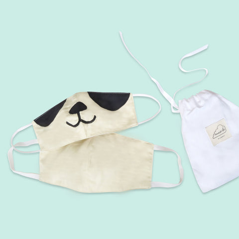 Masilo Twinning Face Mask Set – Panda (Adult/Kid)