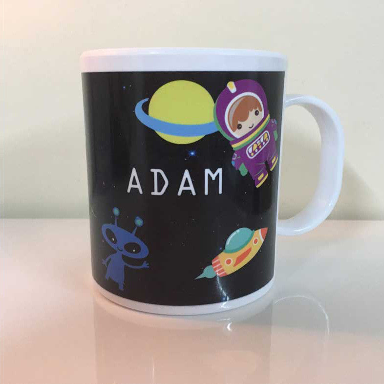 Personalised Mugs - Space