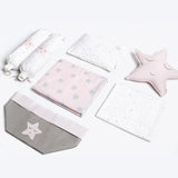 Masilo Baby Rock My Crib Gift Basket - Pink Star