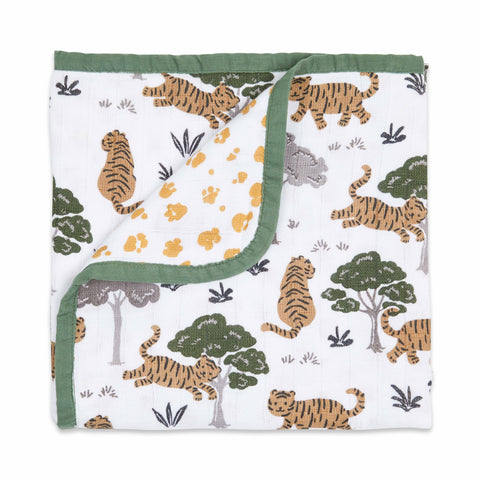 Masilo Organic Muslin Blanket - Born To Be Wild