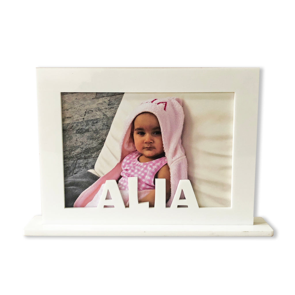 Personalised Magnetic Photo Frame With Stand