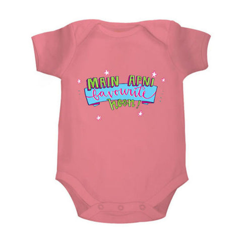 Main Apni Favourite Hoon - Organic Cotton Onesie