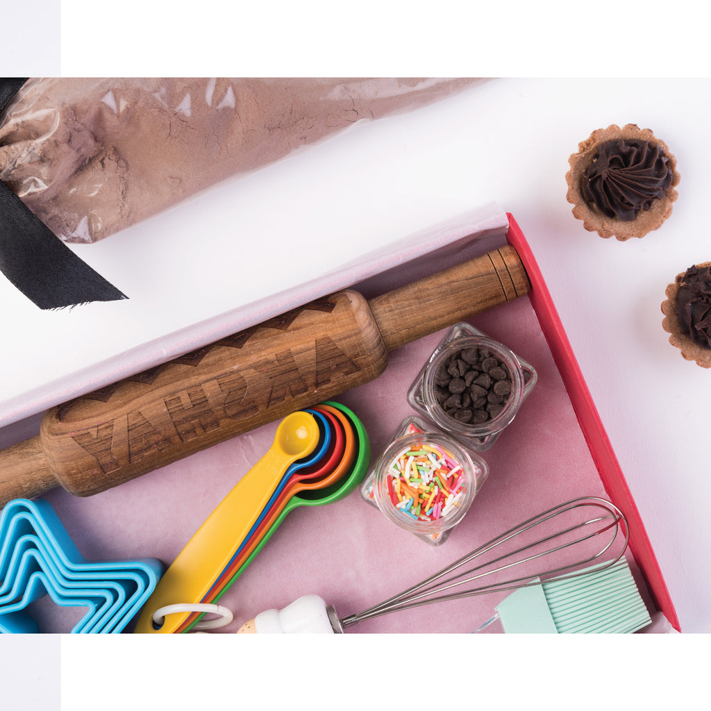 Masterchef Baking Kit with Personalised Rolling Pin