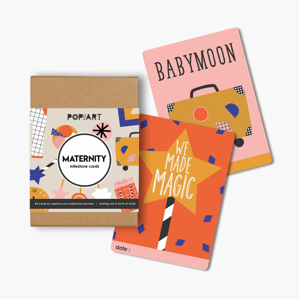 Mini Milestone Cards | Maternity
